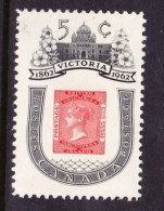 CANADA 1962, MINT, # 399  VICTORIA CENTENARY 1860 B.C.  M NH - Neufs