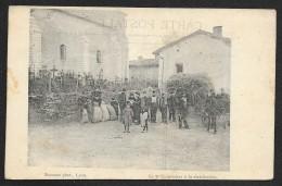LYON Militaria Le 7° Cuirassiers à La Distribution (Bourson) Rhône (69) - Lyon