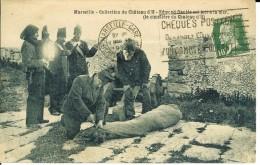 CPA Marseille, Collection Du Château D'If, Edmond Dantés Est Jeté à La Mer  12604 - Storia