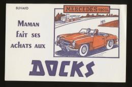 Buvard - DOCK - Mercedes 190SL - D