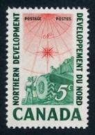 CANADA, 1961,  # 391, NORTHERN DEVELOPMENT: SURVEYING CREW, M NH - Neufs