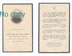 Compiègne, Mémento Abbé Charles Eugène Denant, 20/02/1929, Vicaire De Saint-Jacques, Souvenir Mortuaire - Imágenes Religiosas