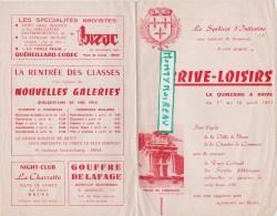 Vieux Papier : Corrèze Brive  , Brochure  1971   Syndicat  D   Initiative - Non Classés