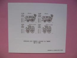 Epreuve Des Timbres Journée Du Timbre  1987 Et 1988 - Otros