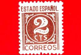 SPAGNA - Nuovo - 1937 - Numeri - Cifra - 2 - 1931-Oggi: 2. Rep. - ... Juan Carlos I