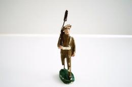 Nazaire Beeusaert, NB, H=100mm, Soldier, - Vintage Toy Soldier, Lineol, Hauser, Elastolin, Durso - Figurines