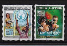 Madagascar 1996, Unicef, Complete Set, Vfu. Cv Undetermined - Madagascar (1960-...)