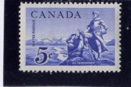 CANADA 1958, # 378.  LA REVENDRY STATUE            MNH