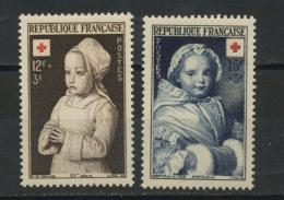 FRANCE -  CROIX ROUGE 1952 - N° Yvert  914/915** - France