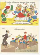 4 Publicités Laboratoire Fraysse Illustrées Par Dubout - Advertentie