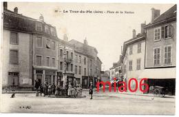 LA TOUR DU PIN   Place De La Nation - La Tour-du-Pin