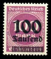 D-REICH INFLA Nr 289b Postfrisch X6B42C2 - Germany