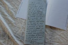 LETTRE CONCERNANT LE CONFIT ITALO AUTRICHIEN - Documents