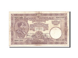 Belgique, 100 Francs, 1925, KM:95, 1924-01-29, TB - [ 2] 1831-... : Regno Del Belgio