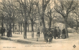 AULNAY PLACE DE LA CHAUME DU TEMPLE - Aulnay