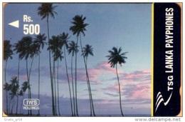 Sri Lanka. - GPT, Lanka Pay Phones, Coconut Palms, 44SRLH, Used
