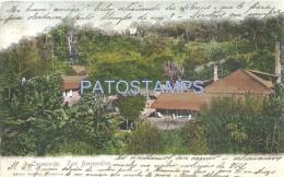 57914 PARAGUAY SAN BERNARDINO LA CERVECERIA BEER CIRCULATED TO URUGUAY POSTAL POSTCARD - Paraguay