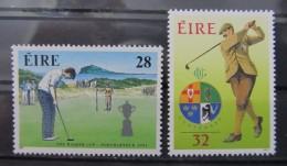IRLANDA 1991 - IRELAND - EIRE - GOLF - YVERT Nº 772-73 - MICHEL 769-770 - SCOTT 839-840