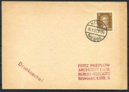 1927 Deutsches Reich Koln Messe Postcard - Deutschland