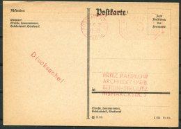1928 Deutsches Reich Koln Pressa Stationery Postcard - Allemagne