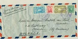 Venezuela - 1939 - 4 Stamps On Airmail Cover To Naarden / Nederland - Venezuela