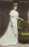 69Bc   S. M. Victoria Eugenia Reina De España Reine D'Espagne - Case Reali