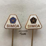 Badge (Pin) ZN002875 - Automobile (Car) SIMCA (Société Industrielle De Mécanique Et Carrosserie Automobile) - Pin's