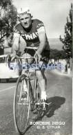 57930 ITALY CYCLING CICLISMO RONCHINI DIEGO SCUDERIA CYNAR POSTAL POSTCARD - Ciclismo
