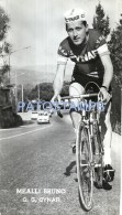 57931 ITALY CYCLING CICLISMO MEALLI BRUNO SCUDERIA CYNAR POSTAL POSTCARD - Ciclismo