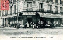 N°50508 -cpa Suresnes -café Resaurant Du Tonkin - - Cafés