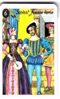 """Carte à Jouer Extraite Du Jeu Mariage """"mots Humoristiques"""" SOUVENT FEMME VARIE BIEN FOL QUI S Y FIE    FRANCOIS 1 - Speelkaarten"""