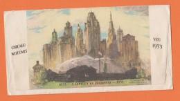 BRIEF VON CHICAGO NACH OBERNDORF AM NECKAR,1934. - Estados Unidos
