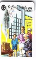 """Carte à Jouer Extraite Du Jeu Mariage """"mots Humoristiques"""" LA FRANCE A PERDU UNE BATAILLE /LONDRES/ /GENERAL DE GAULLE - Speelkaarten"""