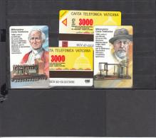 TELECARTe Vaticano, 1998  Milionesima Carta Telefonica SERIE 2 VALORI  ECCEZIONALE - Vaticaanstad