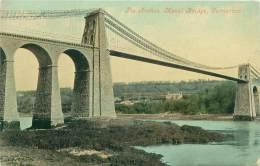 CARNARVON - Menai Bridge - The Arches - Caernarvonshire