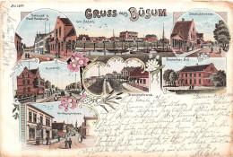 GRUSS Aus BUSUM  ...1900 - Buesum