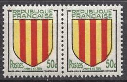 FRANCE 1955 - PAIRE Y.T. N° 1044 - NEUFS** FF858 - Ungebraucht