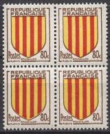 FRANCE 1955 - BLOC DE 4 Y.T. N° 1046 - NEUFS** FF860 - France