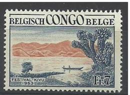 LOTE 806  ///  CONGO BELGA    YVERT Nº: 326**MNH - 1947-60: Ungebraucht