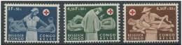LOTE 806  ///  CONGO BELGA    YVERT Nº: 341/343**MNH - 1947-60: Ungebraucht