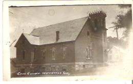 Congregational Church, Waterville, Quebec Photo Veritable - Quebec