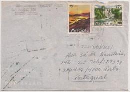 Cover Circulated - 1988 - Angola (Lobito) To Portugal (Porto) - Angola