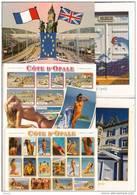 Cote D´opale-lot De 10 Cpm-wimereux-boulogne Sur Mer-calais-wissant- - Cartes Postales