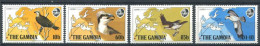 175 GAMBIE 1983 - Yvert 480/83 - Oiseau Rapace - Neuf ** (MNH) Sans Charniere - Gambie (1965-...)