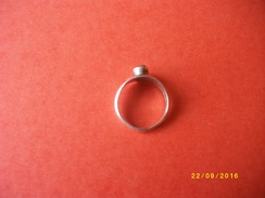 Petite Bague En Argent - Rings