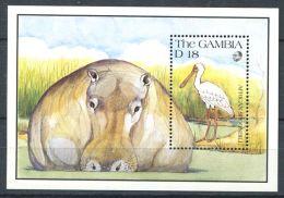 175 GAMBIE 1991 - Yvert BF 107 - Spatule Hippopotame - Neuf ** (MNH) Sans Charniere - Gambie (1965-...)