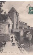 G , Cp , 77 , MORET , La Porte De Bourgogne Et Les Remparts - Moret Sur Loing
