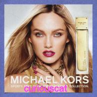 SPORTY CITRUS  SEXY AMBER Et GLAM JASMINE EAU DE PARFUM SPRAY By MICHAEL KORS  PERFUME PARFUM CARD - Parfumkaarten