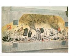 Tjentiste Sutjeska Battle Unused Pc (mi096) Krsto Hegedusic Painting - Guerra 1939-45
