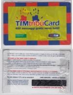 CARTA SERVIZIO NUOVA SCADUTA TIM 400 MESS TIM TRIBU N - [2] Sim Cards, Prepaid & Refills